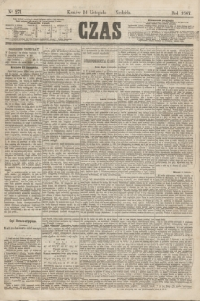 Czas. [R.20], Ner 271 (24 listopada 1867)