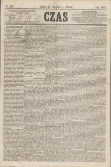 Czas. [R.20], Ner 272 (26 listopada 1867)