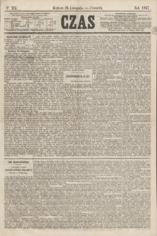 Czas. [R.20], Ner 274 (28 listopada 1867)