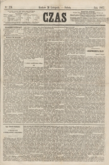 Czas. [R.20], Ner 276 (30 listopada 1867)