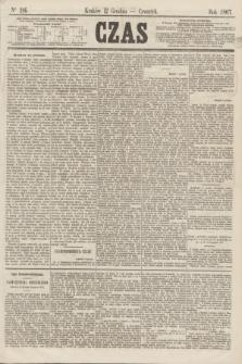 Czas. [R.20], Ner 286 (12 grudnia 1867)