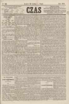 Czas. [R.20], Ner 293 (20 grudnia 1867)