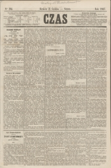Czas. [R.20], Ner 294 (21 grudnia 1867)