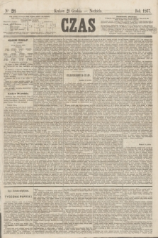 Czas. [R.20], Ner 299 (29 grudnia 1867)