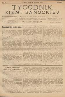 Tygodnik Ziemi Sanockiej. 1912, nr2