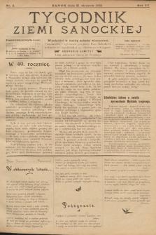 Tygodnik Ziemi Sanockiej. 1912, nr3