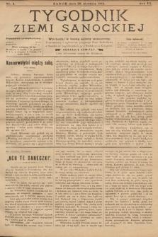 Tygodnik Ziemi Sanockiej. 1912, nr4