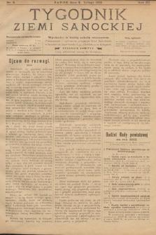 Tygodnik Ziemi Sanockiej. 1912, nr5