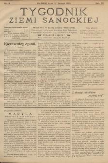 Tygodnik Ziemi Sanockiej. 1912, nr6