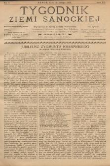 Tygodnik Ziemi Sanockiej. 1912, nr7