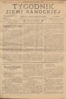 Tygodnik Ziemi Sanockiej. 1912, nr8