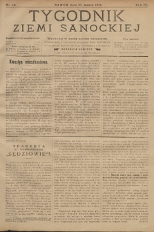 Tygodnik Ziemi Sanockiej. 1912, nr10