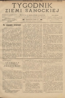 Tygodnik Ziemi Sanockiej. 1912, nr11