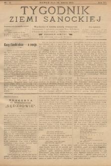 Tygodnik Ziemi Sanockiej. 1912, nr12