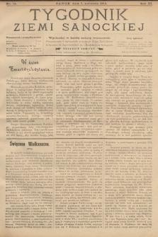 Tygodnik Ziemi Sanockiej. 1912, nr14