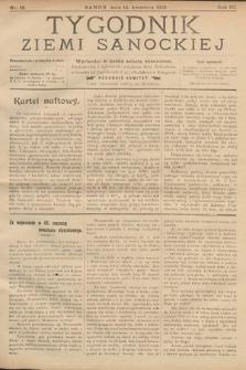 Tygodnik Ziemi Sanockiej. 1912, nr15