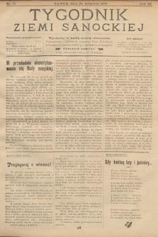 Tygodnik Ziemi Sanockiej. 1912, nr17
