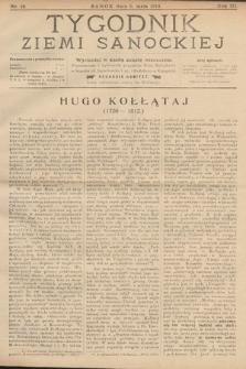 Tygodnik Ziemi Sanockiej. 1912, nr18