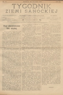 Tygodnik Ziemi Sanockiej. 1912, nr19