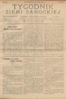 Tygodnik Ziemi Sanockiej. 1912, nr20