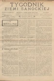 Tygodnik Ziemi Sanockiej. 1912, nr21