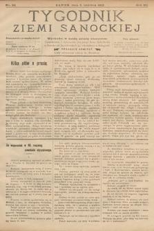 Tygodnik Ziemi Sanockiej. 1912, nr22