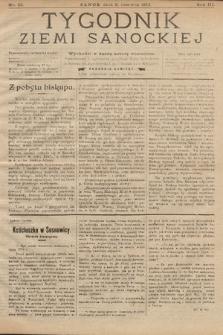 Tygodnik Ziemi Sanockiej. 1912, nr23
