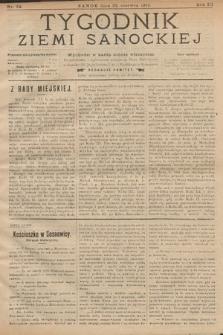 Tygodnik Ziemi Sanockiej. 1912, nr24