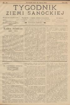 Tygodnik Ziemi Sanockiej. 1912, nr29