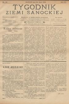 Tygodnik Ziemi Sanockiej. 1912, nr30