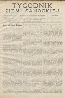Tygodnik Ziemi Sanockiej. 1912, nr32