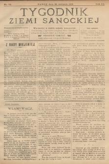 Tygodnik Ziemi Sanockiej. 1912, nr34