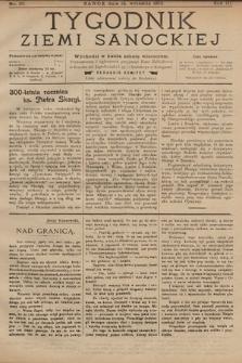 Tygodnik Ziemi Sanockiej. 1912, nr37