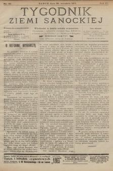 Tygodnik Ziemi Sanockiej. 1912, nr39