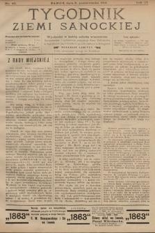 Tygodnik Ziemi Sanockiej. 1912, nr40