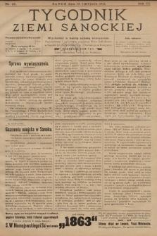 Tygodnik Ziemi Sanockiej. 1912, nr45