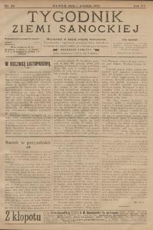 Tygodnik Ziemi Sanockiej. 1912, nr48