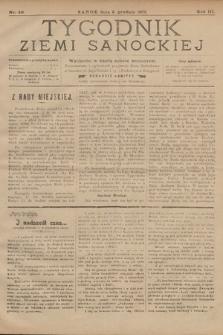 Tygodnik Ziemi Sanockiej. 1912, nr49