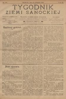 Tygodnik Ziemi Sanockiej. 1912, nr50