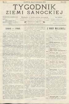 Tygodnik Ziemi Sanockiej. 1913, nr2