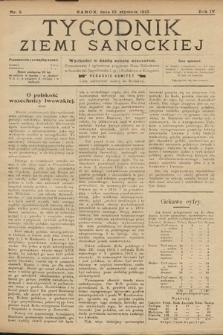 Tygodnik Ziemi Sanockiej. 1913, nr3
