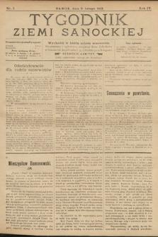 Tygodnik Ziemi Sanockiej. 1913, nr7