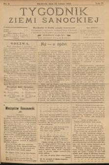 Tygodnik Ziemi Sanockiej. 1913, nr8