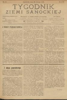 Tygodnik Ziemi Sanockiej. 1913, nr9