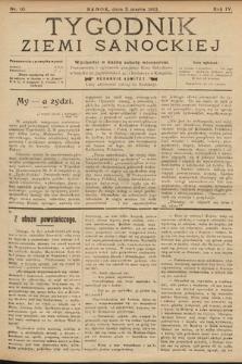 Tygodnik Ziemi Sanockiej. 1913, nr10