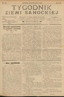 Tygodnik Ziemi Sanockiej. 1913, nr12