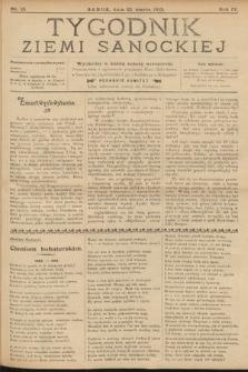 Tygodnik Ziemi Sanockiej. 1913, nr13