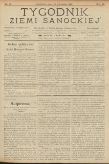 Tygodnik Ziemi Sanockiej. 1913, nr16