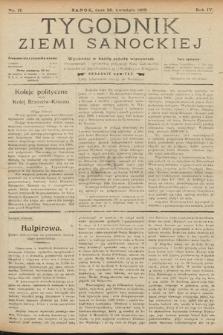 Tygodnik Ziemi Sanockiej. 1913, nr17