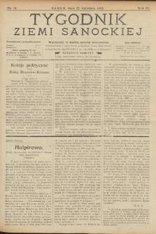 Tygodnik Ziemi Sanockiej. 1913, nr18